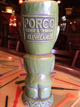Porco Lounge Tiki Mug 2nd Edition Green Glaze (Pickup Only)