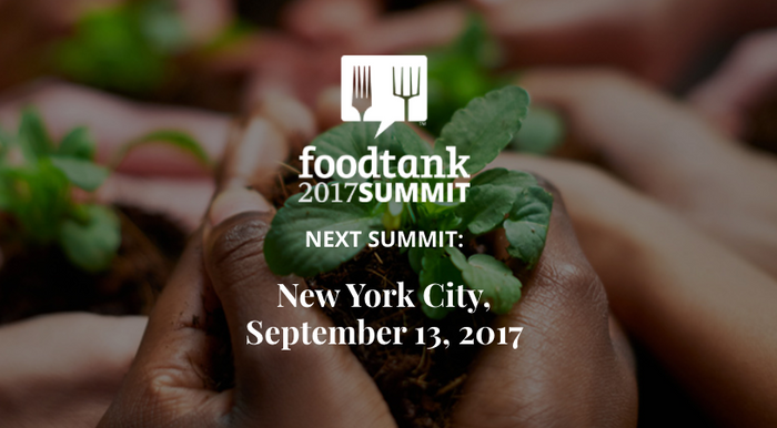 BRAKFAST chosen to attend the Food Tank Summit NYC 2017