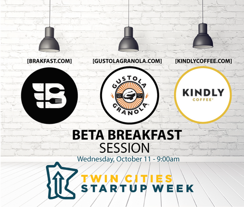 BRAKFAST asked to Host event at Twin Cities Startup Week!