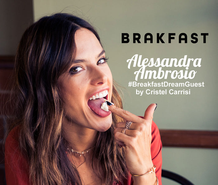 This Weeks Brakfast Guest is Alessandra Ambrosio!