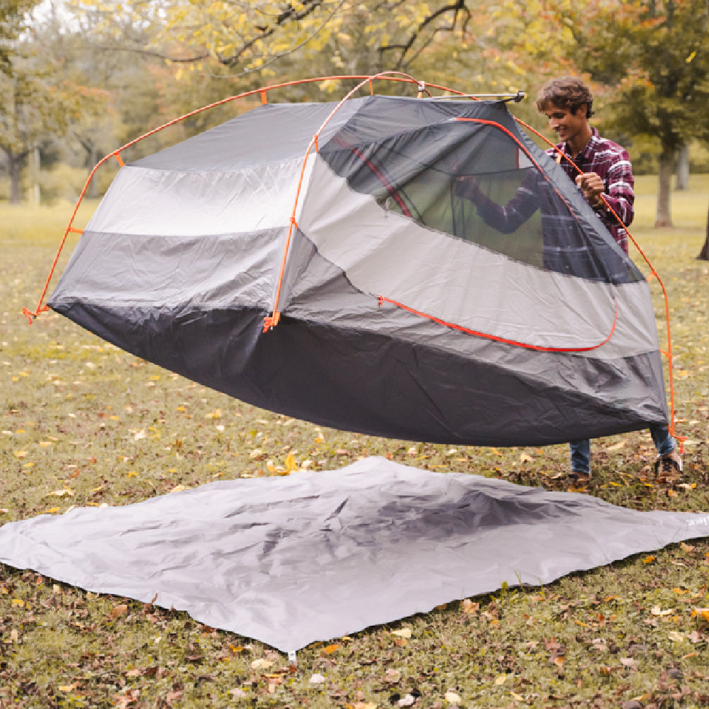 "Introducing the Wise Owl ""Big Foot"" Tent Footprint!"