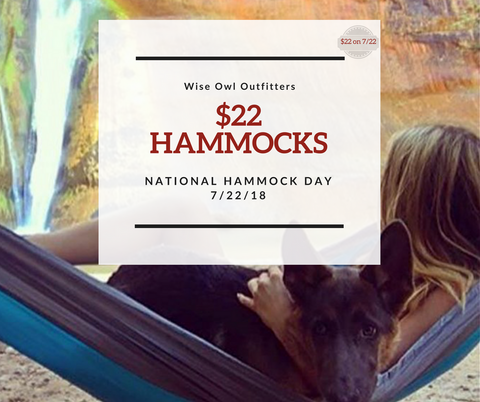 National Hammock Day Sale