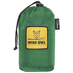 WiseFly Green Rain Tarp Gear Bag