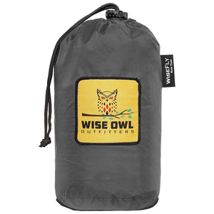 WiseFly Charcoal Gray Rain Tarp Bag