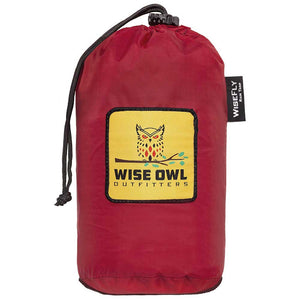 WiseFly Crimson Red Rain Tarp Carrying Bag
