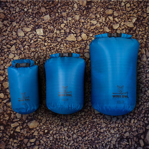 Set of 3 Blue Dry Bags