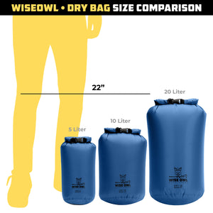Blue Dry Bag Comparison
