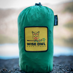 WiseFly Green Rain Tarp Carrying Bag