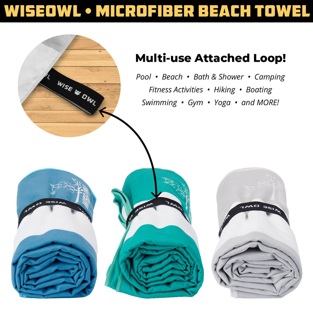Microfiber Beach Towel (7' x 4')
