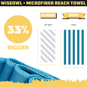 Beach Towel 7 x 4 Size