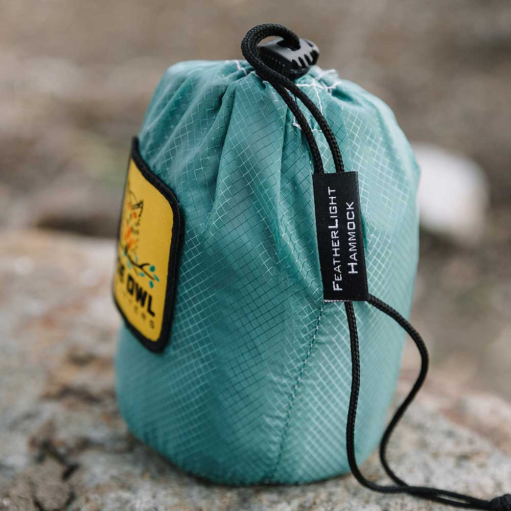Featherlight Green gear bag