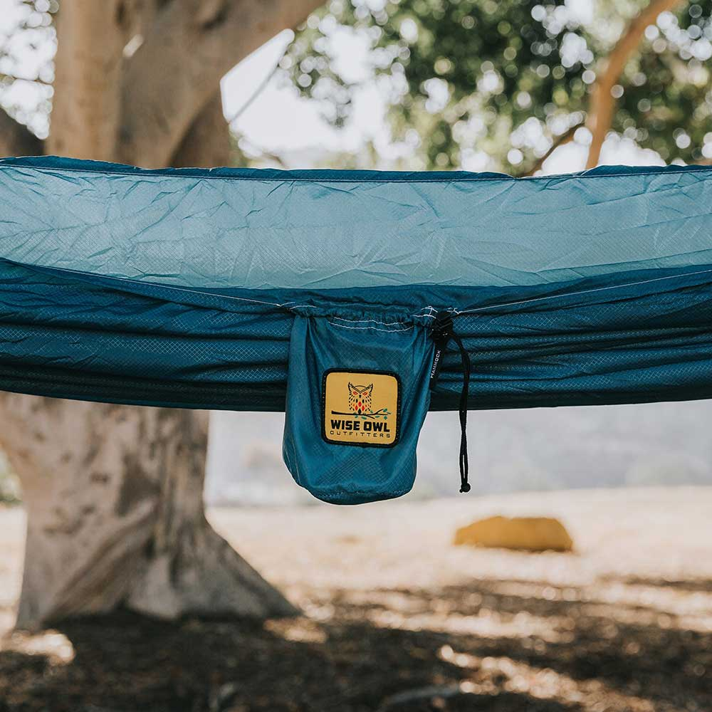 Featherlight Blue hammock gear bag