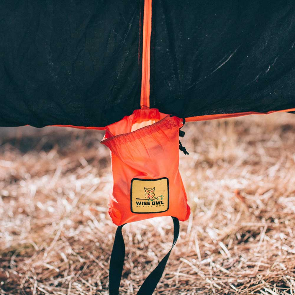 Black & Orange SnugNet Bug Net Carrying Bag