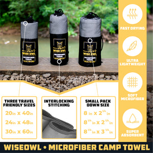 Single Camping Towel