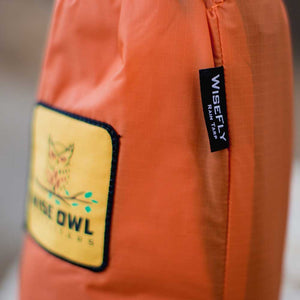 WiseFly Orange Rain Tarp Bag