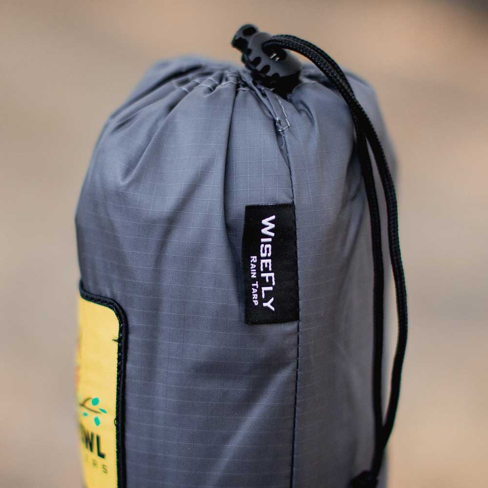 WiseFly Charcoal Gray carrying bag
