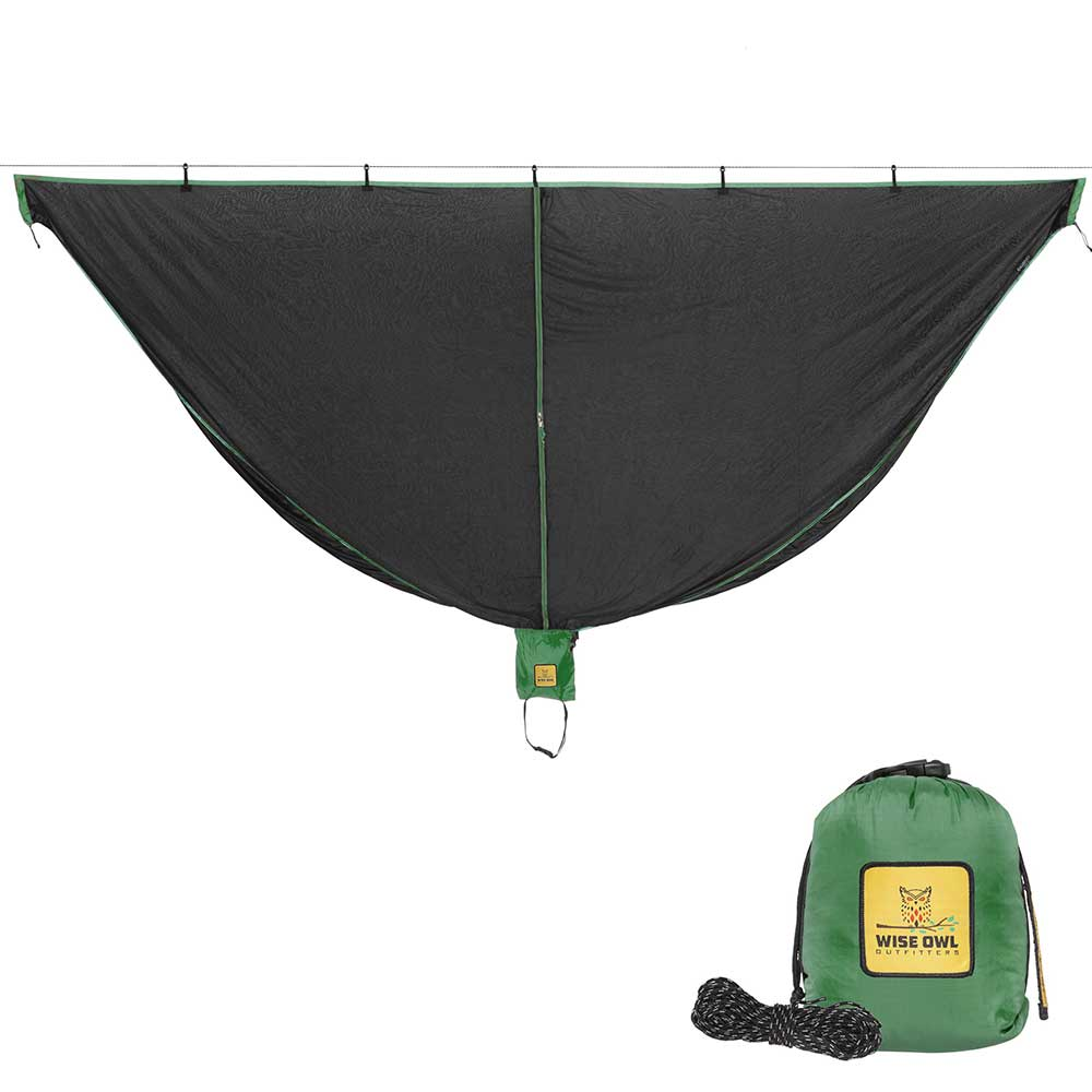 Black & Green SnugNet Bug Net