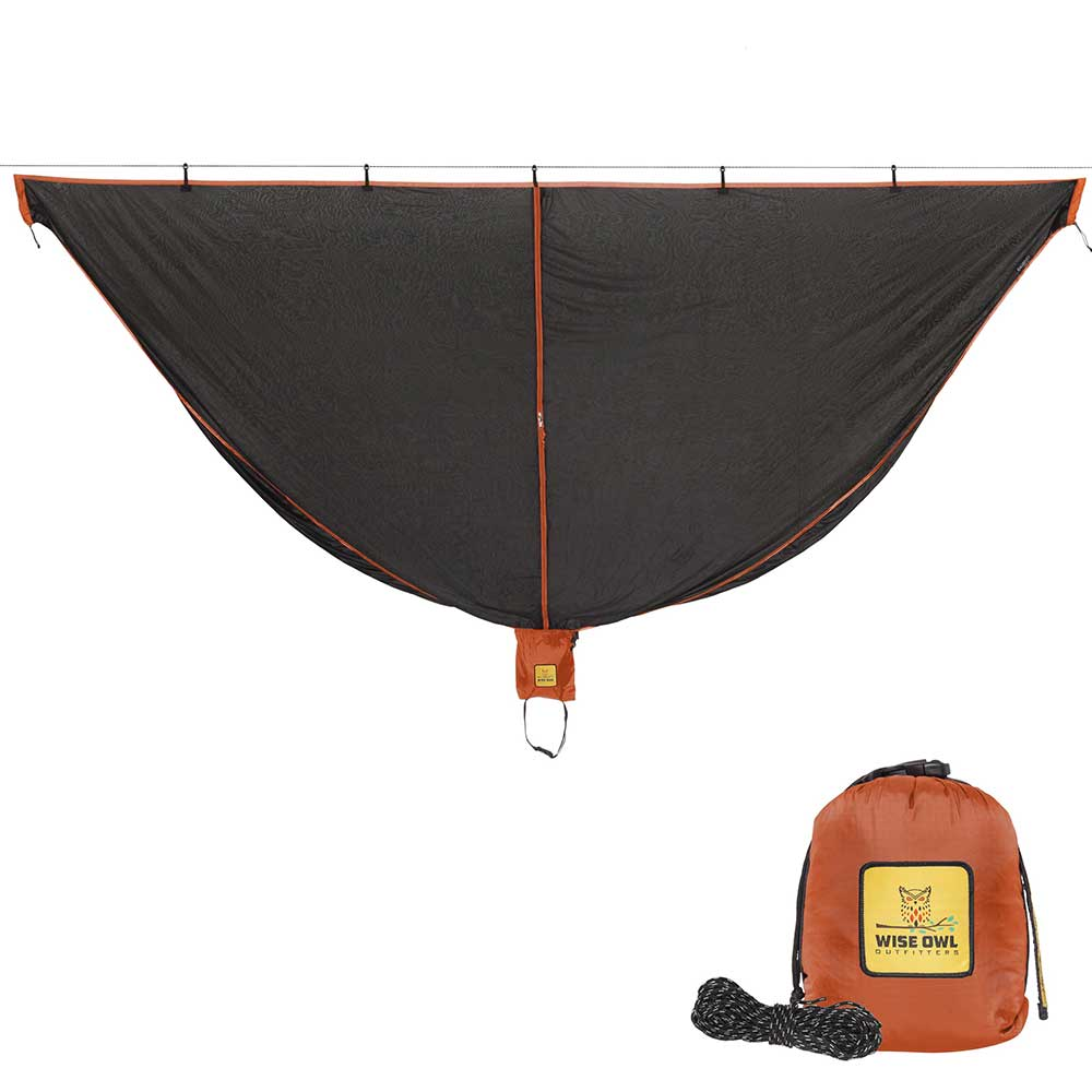 Black & Orange SnugNet Bug Net