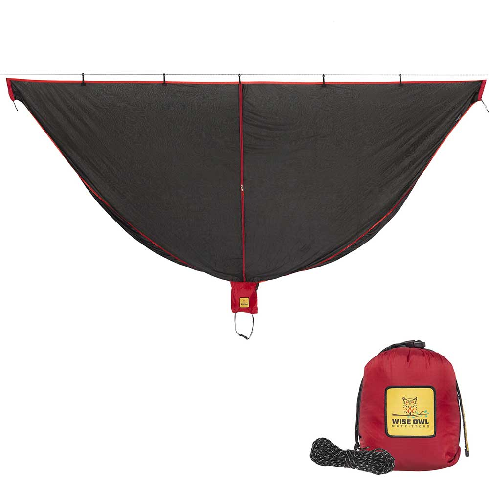 Black & Red SnugNet Bug Net