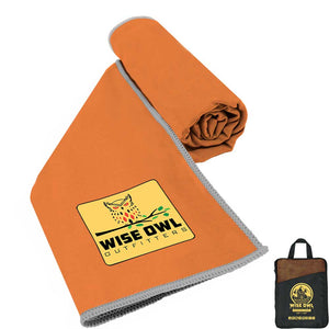Orange Camping Towel