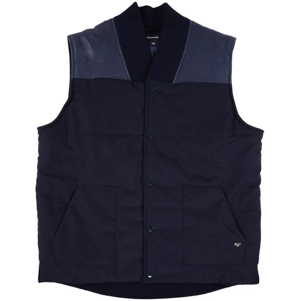 Diamond Supply Co. Contrast Bomber Vest