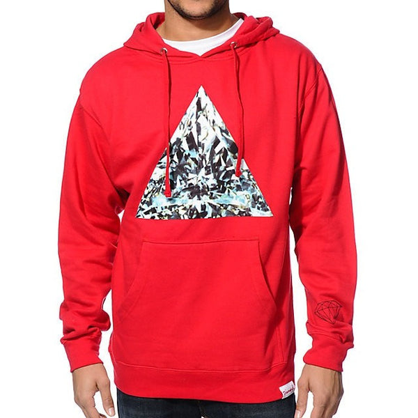 Diamond Supply Co. Trillian Red Pullover Hoodie