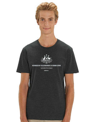 Department of Genuine Satire - Black - See-Shirts