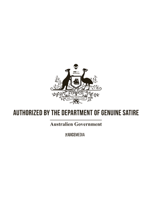 Ladies Department of Genuine Satire - White