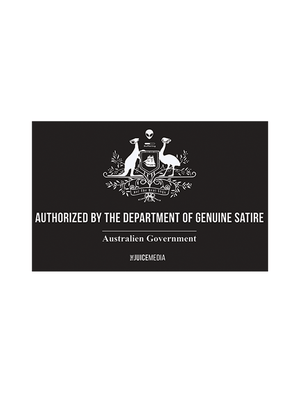 Ladies Department of Genuine Satire-Black