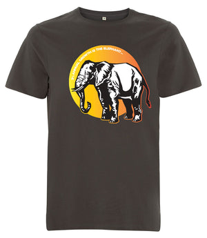 Orange Elephant in the room - See-Shirts