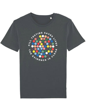 Pill Testing Saves Lives - See-Shirts