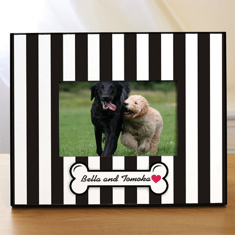Personalized Doggity Dog Printed Picture Frame