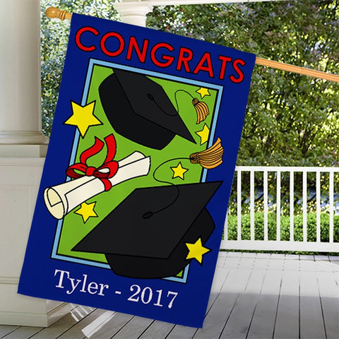 Personalized Graduation Personalized House Flag