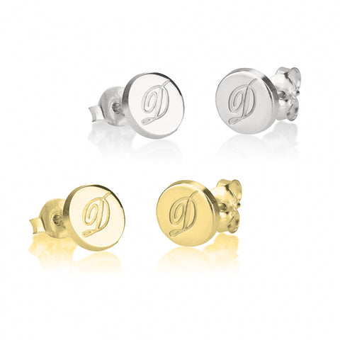 Personalized Initial Studs