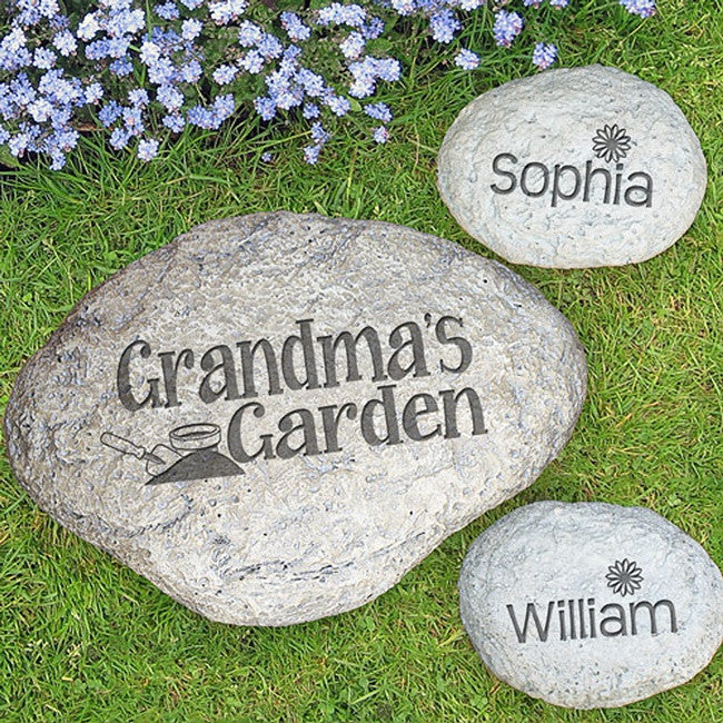 Personalized Engraved Garden Stone
