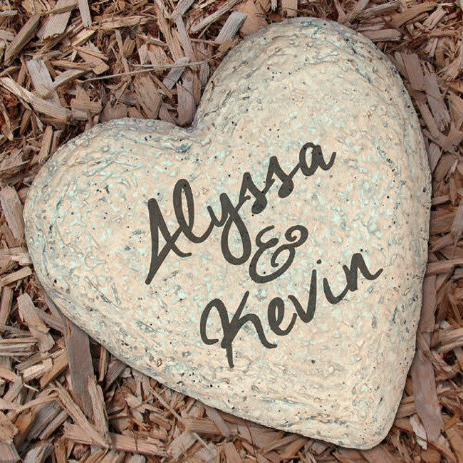 Personalized We are set Garden Stone