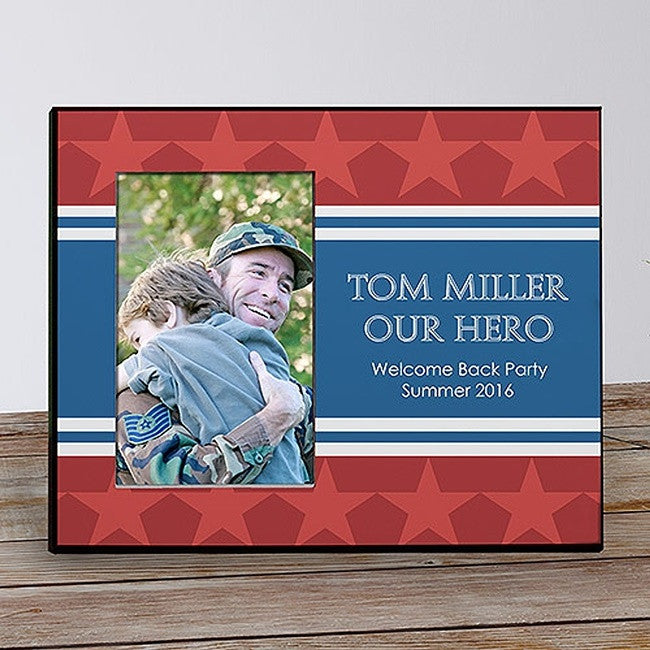 Personalized USA Pride Picture Frame
