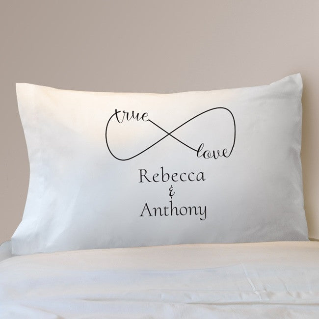 Personalized True Love Infinity Pillowcase