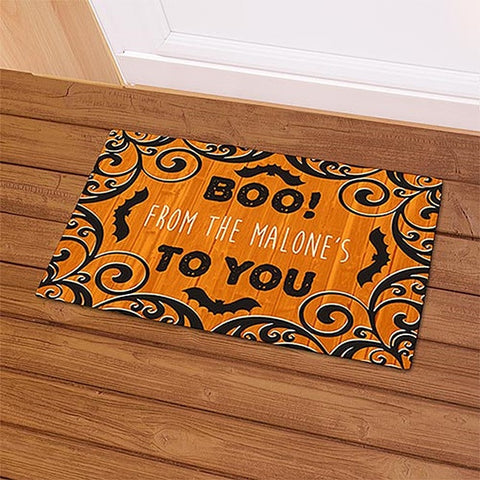 Personalized Boo To You Doormat