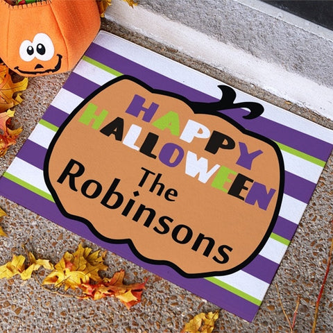 Personalized Halloween Doormat