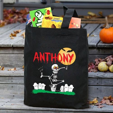 Personalized Trick-Or-Treat Bags