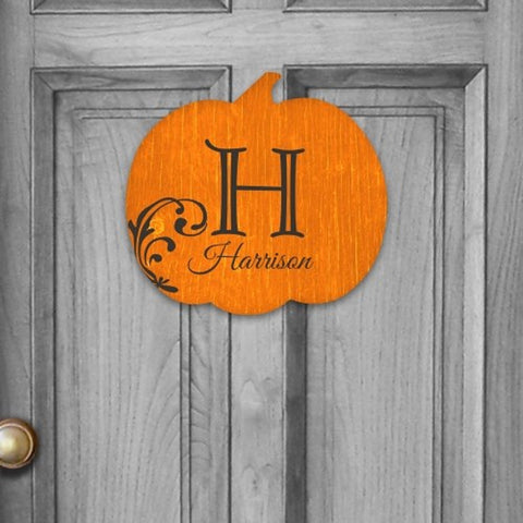 Personalized Fall Home Hanging sign