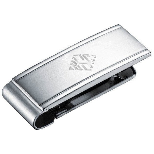 Personalized Tribute Stainless Steel Engravable Money Clip