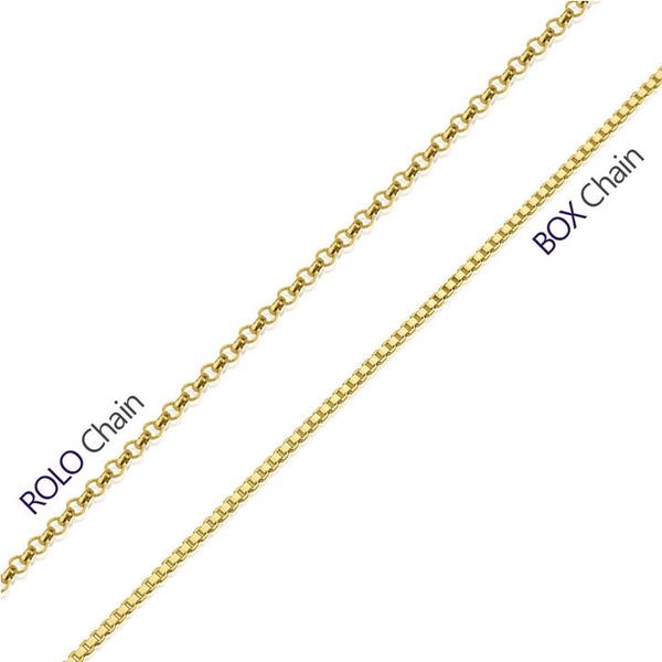 Personalized 24K Gold Plated Stamp Name Necklace