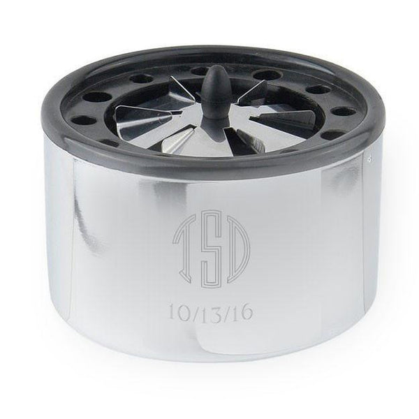 Personalized Propeller Cigarette Ashtray in Stainless Steel