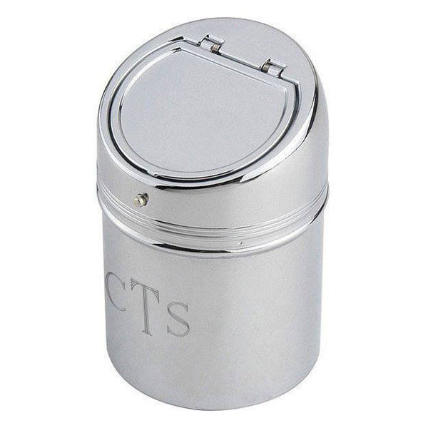 Personalized Stainless Steel Cylinder Ashtray