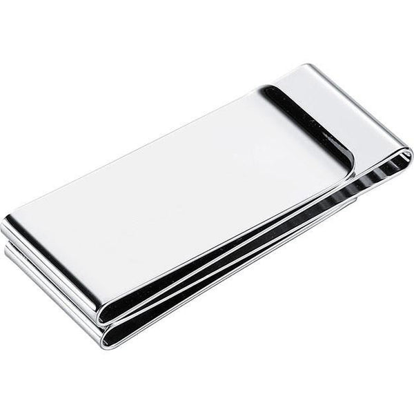 Trio Stainless Steel Money Clip - Personalized