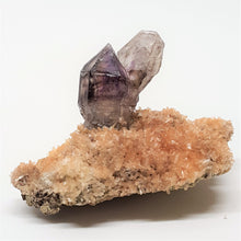 Load image into Gallery viewer, Amethyst Quartz on bed of tiny Quartz Crystals