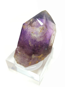 Amethyst Quartz with Hematite and Enhydro