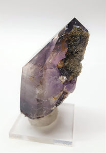 Smokey Amethyst Quartz with Hematite